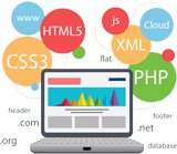 html-css-java-php-html5-code-with-laptop---big-ideas